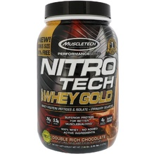 Muscletech, Nitro Tech, 100% сыворотка Gold, 2.24 фунта (1.02кг)
